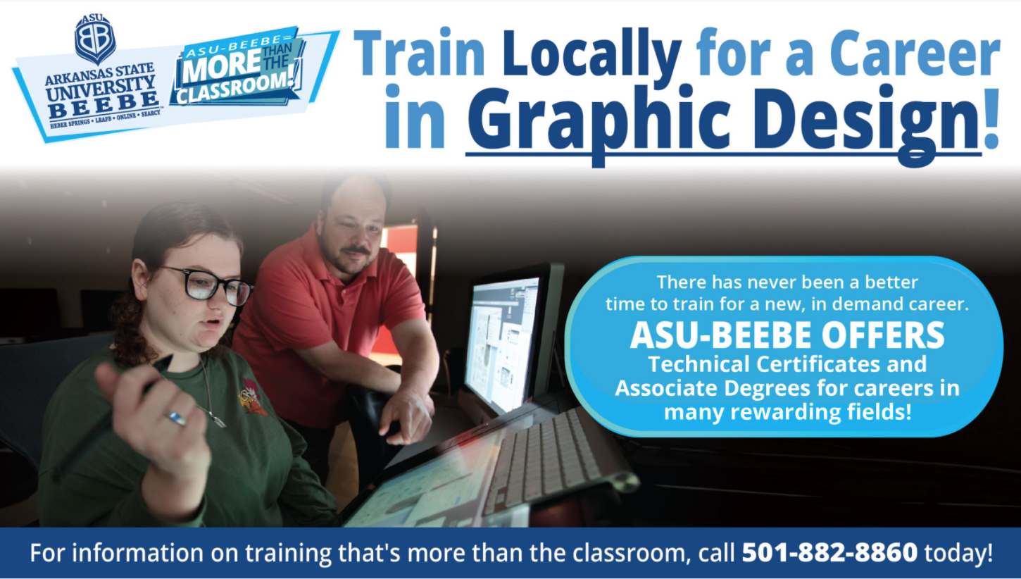 Graphic Arts Program promotional ad