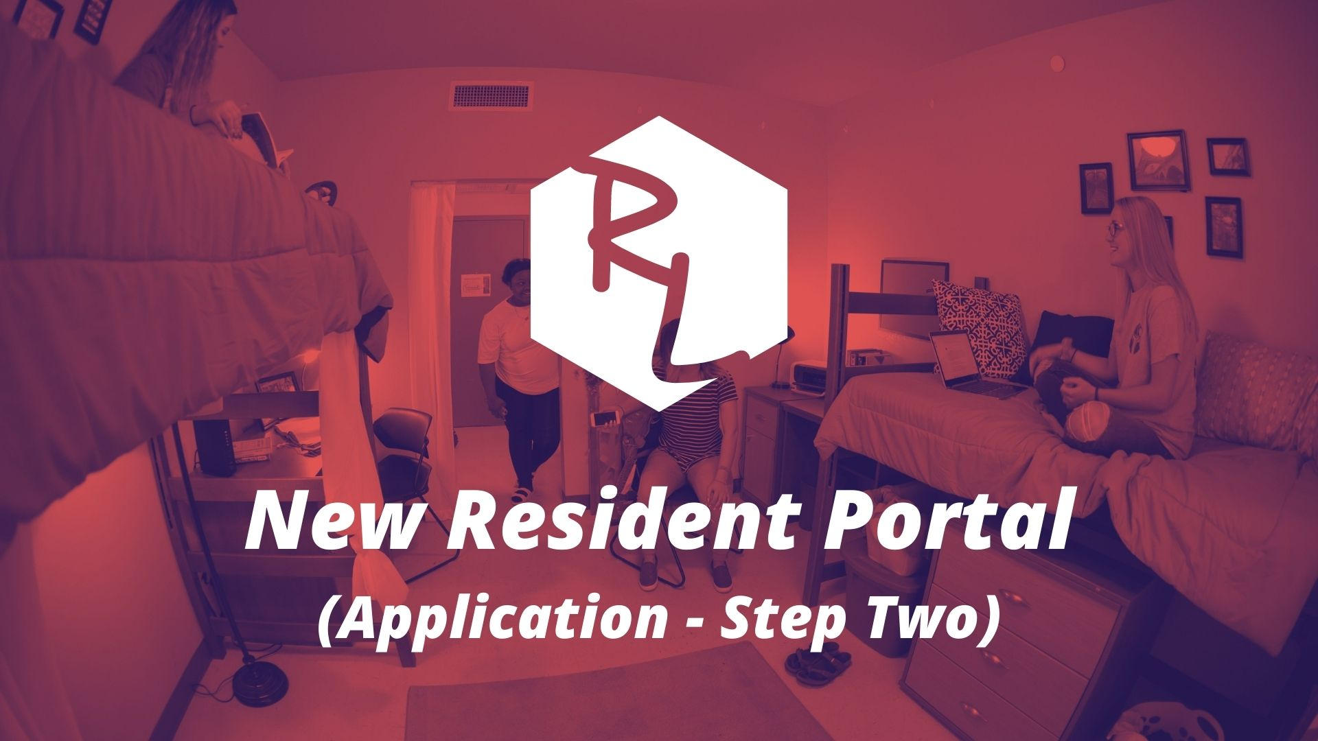 New Resident Housing Selection Button