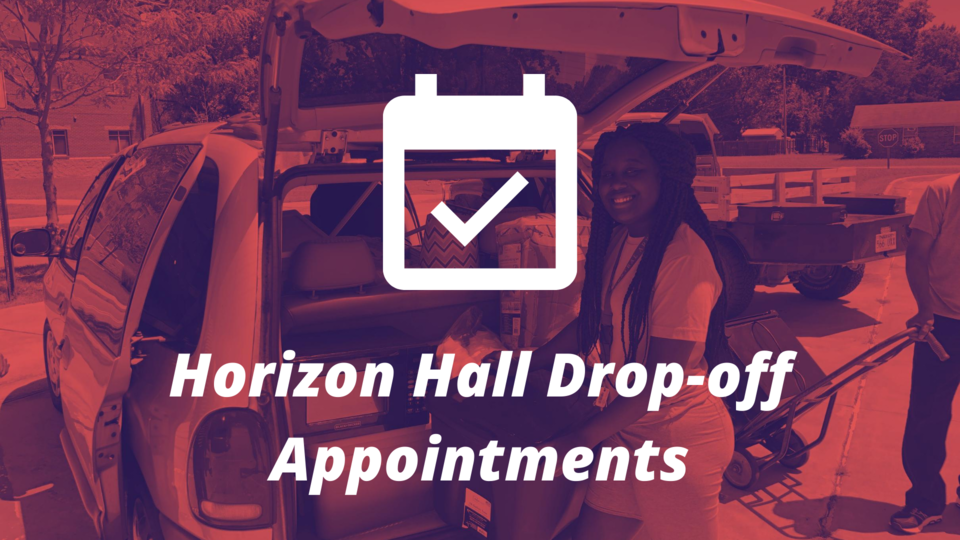 Schedule a drop-off appointment