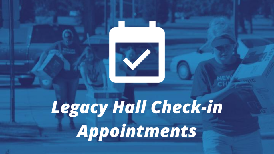 Schedule check-in appointment