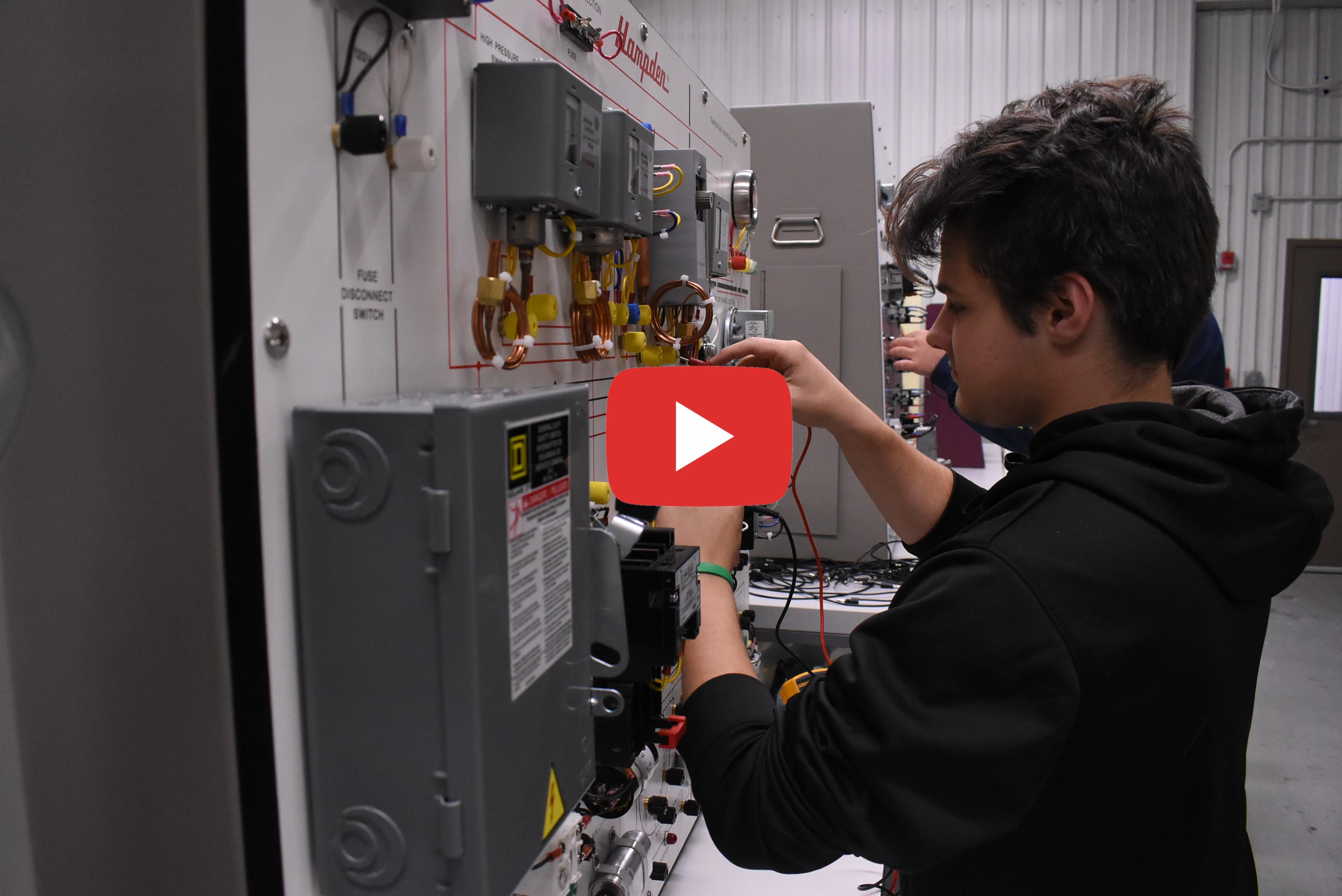 Student and electrical box